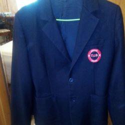 Jacket for a teenager black.