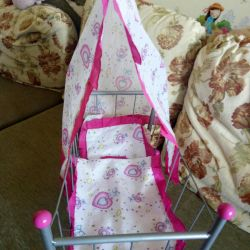 Cot for dolls.