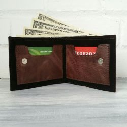 Genuine Leather and Suede Wallets