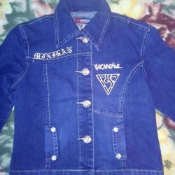 A new denim jacket for a girl.