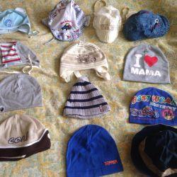 Many caps