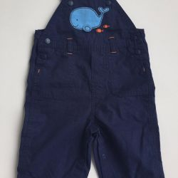 Overalls + bodysuit Carters for 6 months