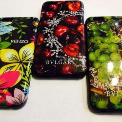 Новый силикон Kenzo и Bulgari для iPhone 6/6S