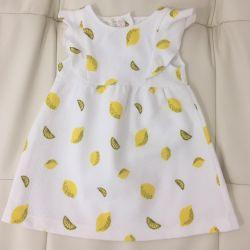 Dress made of jacquard fabric Zara