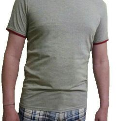 T-shirt μονοφωνικό