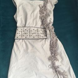 Σουέντ φόρεμα