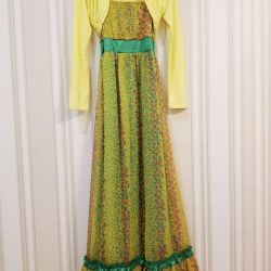 Kızlar için yeni sundress ve bolero De Salitto