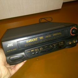 VCR with karaoke