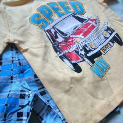 Set мальчика on boy new (t-shirt + shorts)