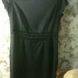 Women's dress with trim