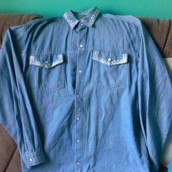 Jeans shirt for women