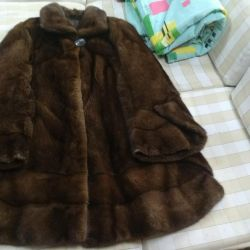 Mink fur coat 54-62 rr