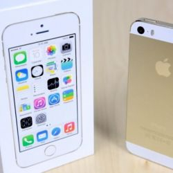 New iPhone 5s (32gb), gold