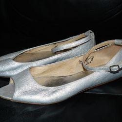 Δερμάτινα παπούτσια μπαλέτου Vero Cuoio Ιταλία