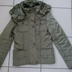 Demi-season jacket p 146-152 green