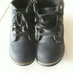 Boots are demi-season, naturalka