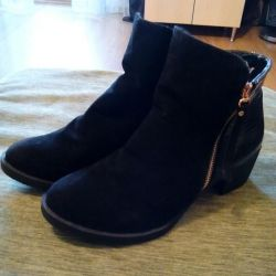 Half boots.