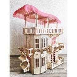 Wonder House for Barbie, Monster High and Winx Dolls