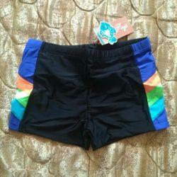 New men's swimming trunks