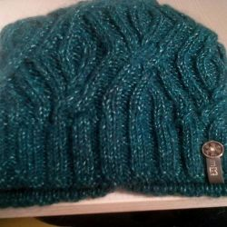 Knitted new hat