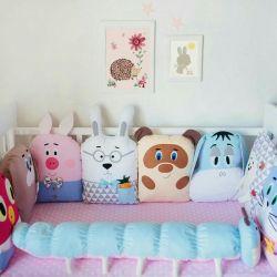 Crib în pat