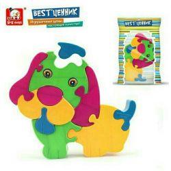 Tasarımcı - Puzzle Dog plastic