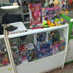 I will sell department (costume jewelry, bulk spirits, toys)