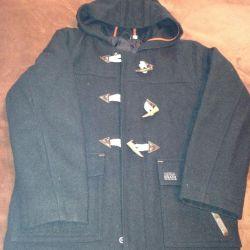 Куртка для мальчика с капюшоном;даффлкоут