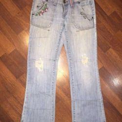 Markalı kot pantolon 44-46