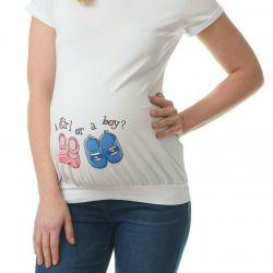 Hamileler için tişört,
