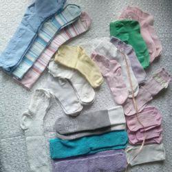 3-6 yaş çoraplar ve külotlar