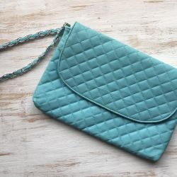 Clutch bag. New