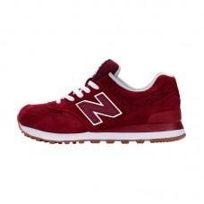 New Balance 574 Maroon Sneakers