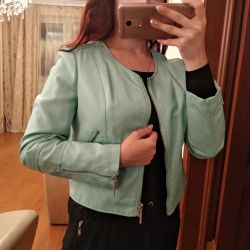 New leather jacket M-L