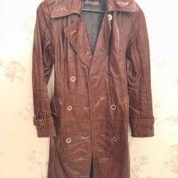Cloak, natur. leather