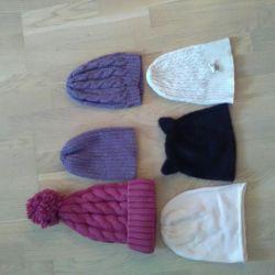 Şapkalar, hepsi birlikte eşarplar