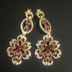 Evening earrings