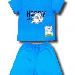 New Set (t-shirt and shorts).