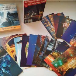 St. Petersburg ve Kazan set kartları koleksiyonu