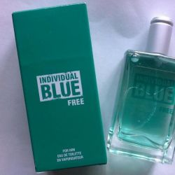 Mens Toilet water Individual blue Free 100ml