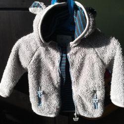 Курточка Детская мишка с ушками