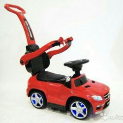 Tolokar wheelchair Mersedes-Benz - red