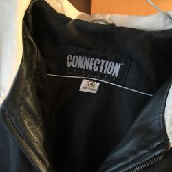 Leather jacket, new, bought in Greece