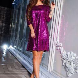 Elbise 555 R.48 renk fuşya