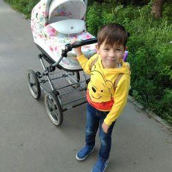 Universal stroller ROAN Emma (2 in 1)