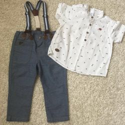 Set of pants and shirt
