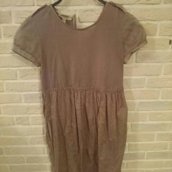 Burberry dress and zara skirt