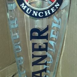 Sticlă de sticlă Paulaner XXL volum 3 litri