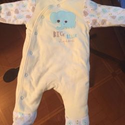 Spring overalls 1-3 months.