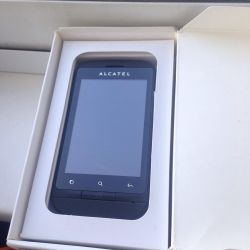 Alcatel недорогой сенсорный телефон